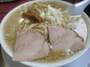 新潟 杭州飯店のラーメン