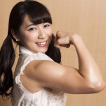 才木玲佳の筋肉と腹筋がすごい!毎日のトレーニングもすごい!!大学出の才女の一面も持っています。
