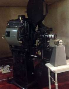 高崎電気館 映写機