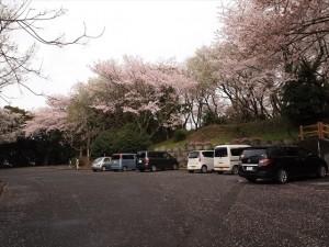 山頂駐車場