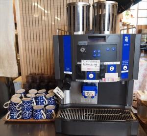 コーヒーマシン もっくる新城