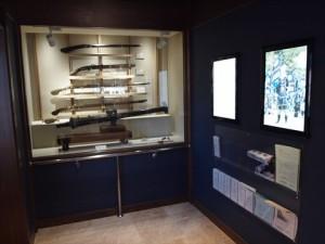 火縄銃展示コーナー