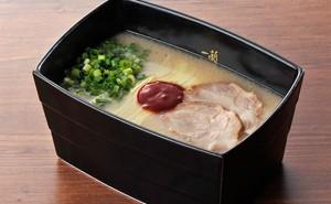 一蘭 天然とんこつラーメン(重箱酸味)