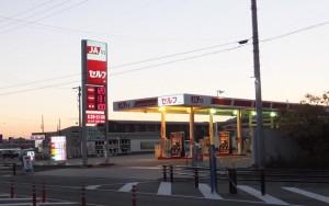JAのガソリンスタンド