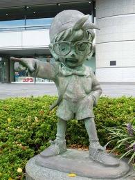 大阪読売テレビ コナン像